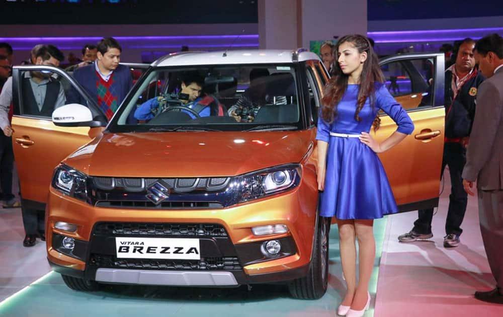 Auto Expo 2016: Maruti launches new SUV Vitara Brezza