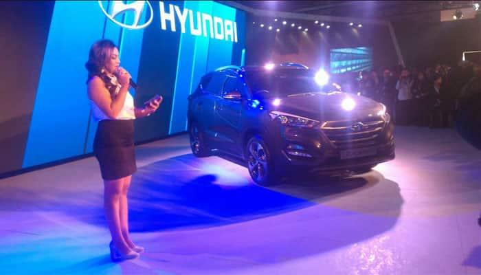 Hyundai pavilion at Auto Expo 2016.