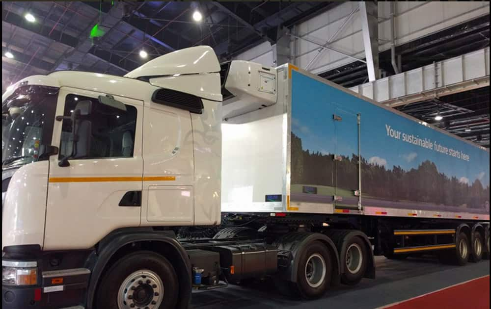 Delhi Auto Expo 2016 day 2 kicked off with the unveiling of Premium Truck Scania G310.