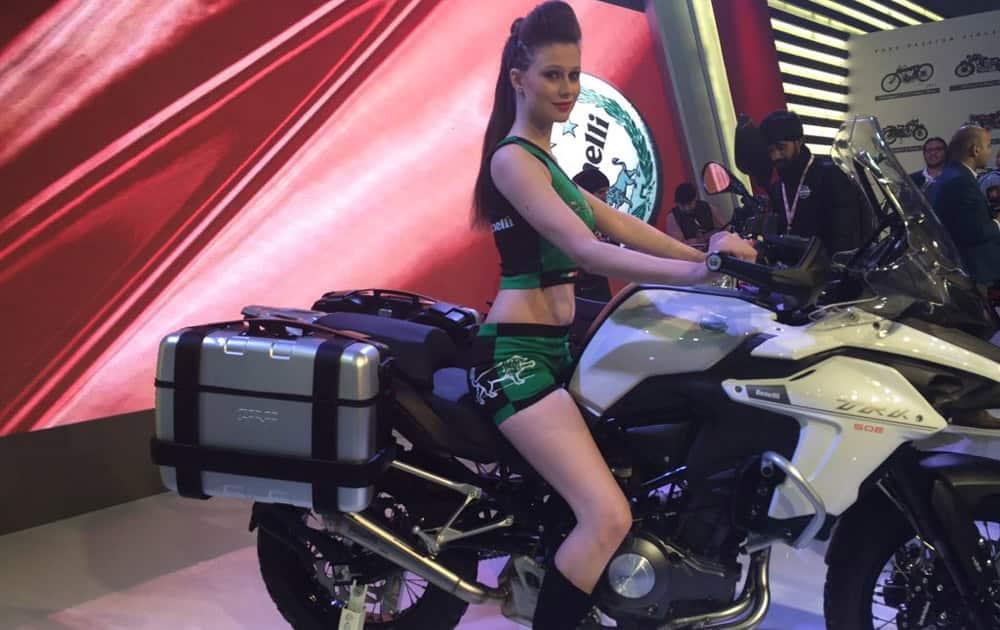 DSK Benelli unveils TRX-502.