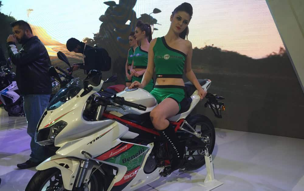 DSK Benelli Tornado 302 launched.