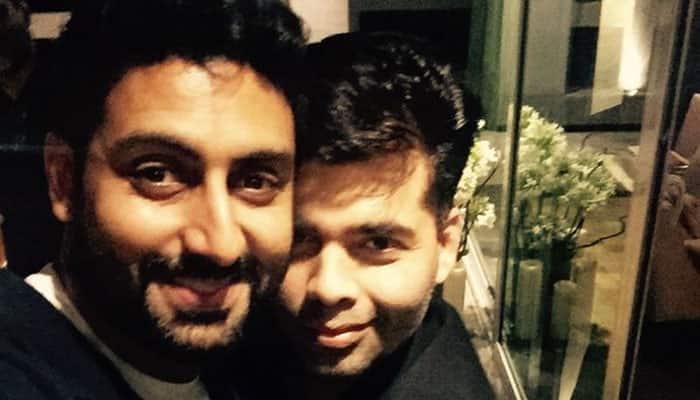Karan Johar welcomes Abhishek Bachchan to decade of dreams- Here's why