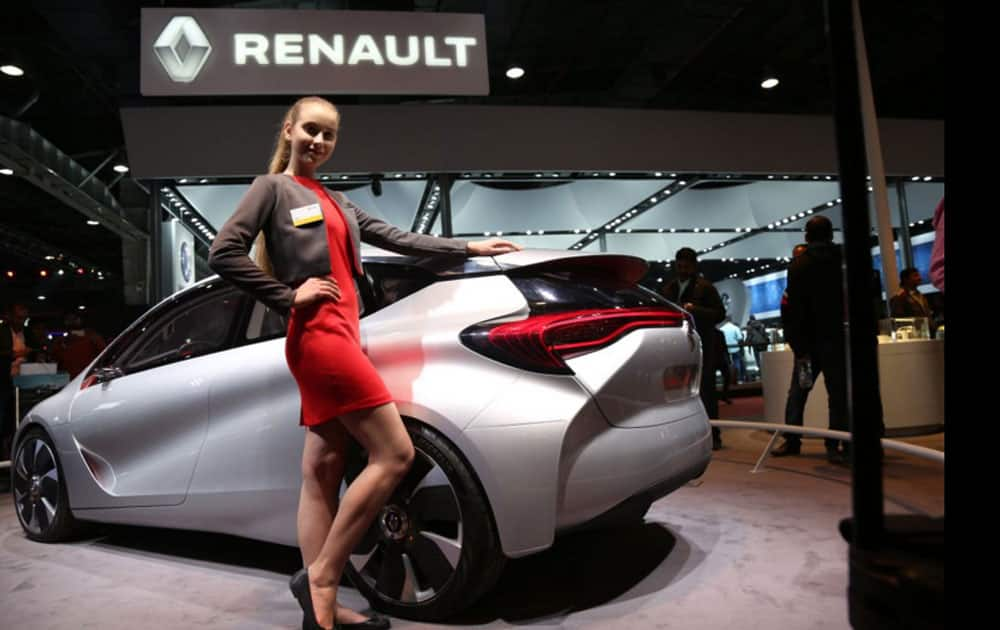 The concept cars for Renault continue to be major attraction at AutoExpo 2016.