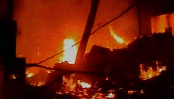 Blast in Hyderabad factory in Maheswaram; six dead, two others injured