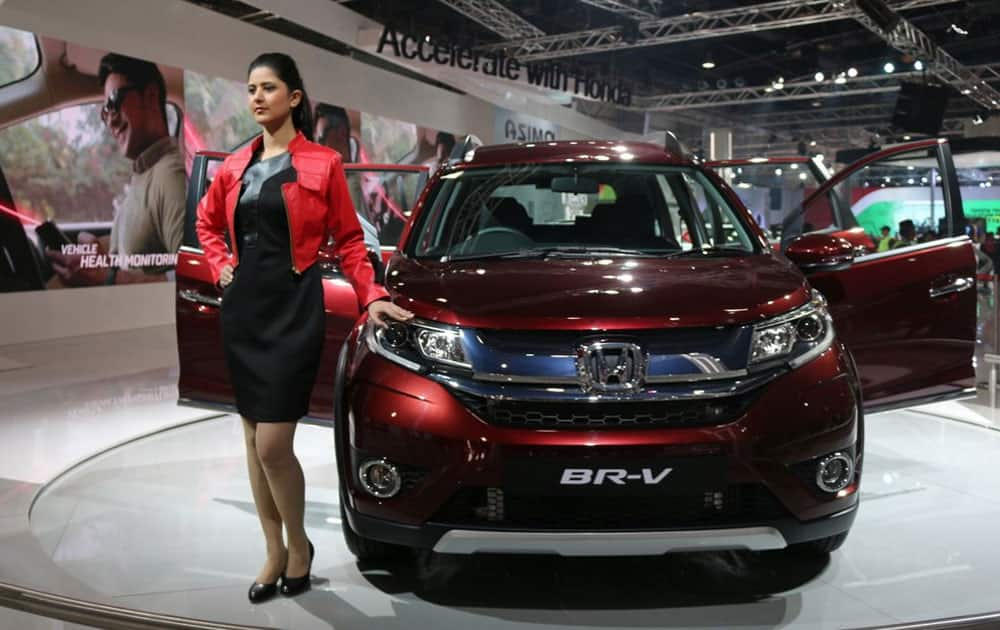 The new BR-V launched by Honda India at Auto Expo 2016 is a mixture of sophistication and class!
