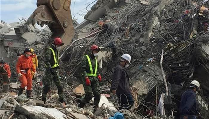 Taiwan earthquake death toll rises to 112