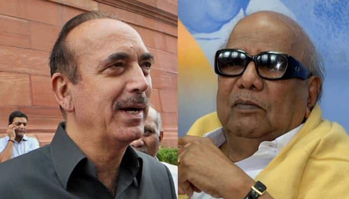 Possible Congress-DMK alliance in TN? Ghulam Nabi Azad meets Karunandhi