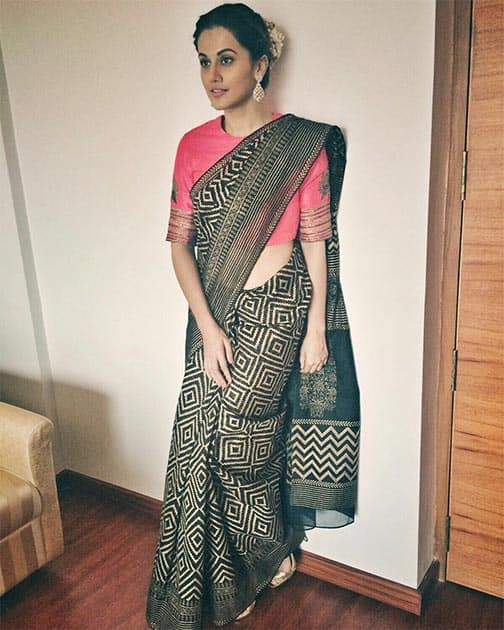 Radhika Aire for an event in Salem :) Styled by @devs213 Twitter@taapsee