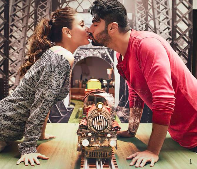 Eros Now :- Valentine treat to @arjunk26 & #KareenaKapoor fans! Here's the new poster of #KiandKa! Trailer to be out tomorrow :)   -twitter
