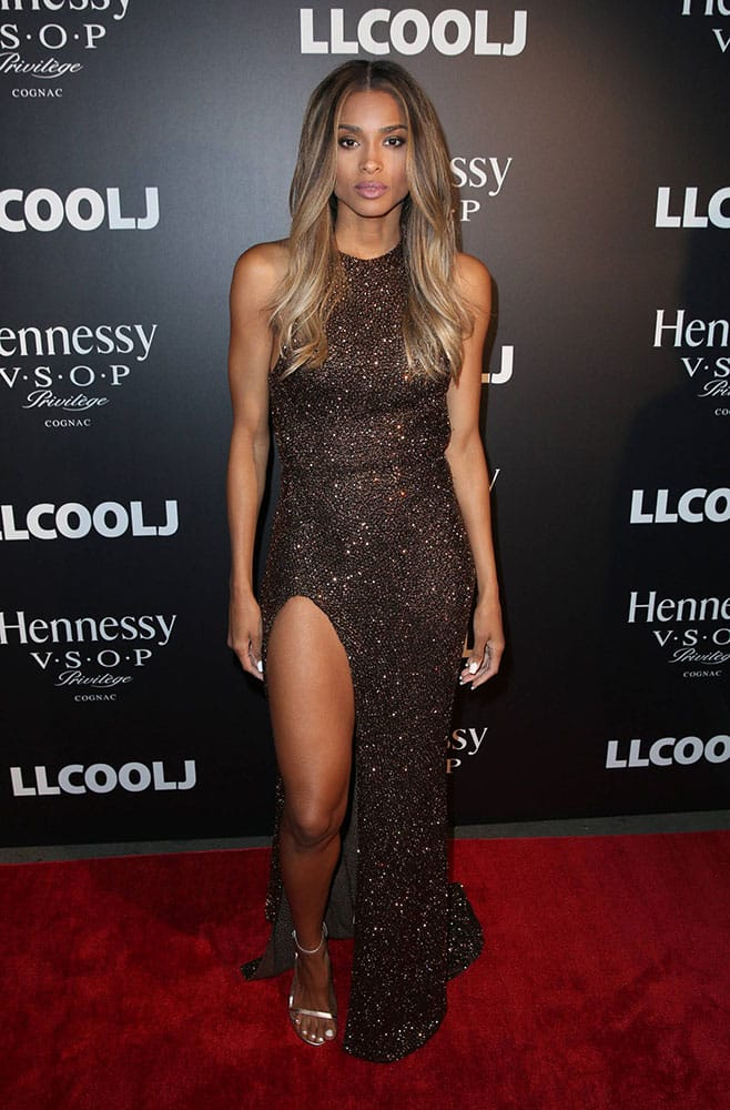 Songstress, actress and model Ciara attends the Hennessy V.S.O.P Privilege pre-GRAMMY dinner at Ysabel in Los Angeles.