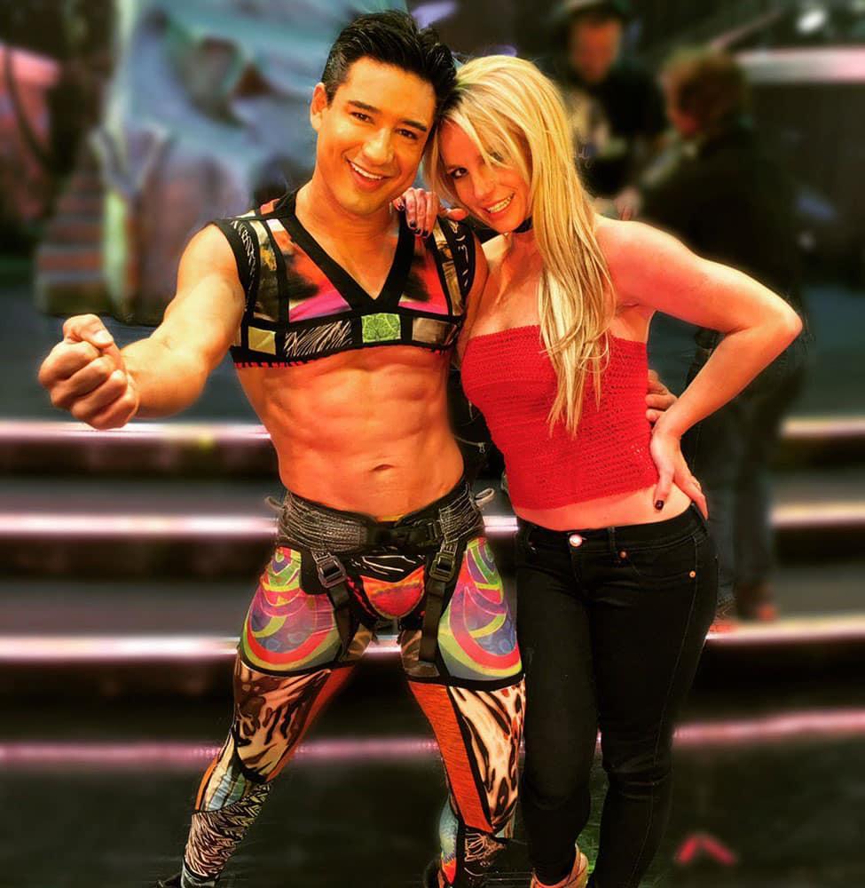 Mario Lopez :- Got a new gig... @BritneySpears -twitter