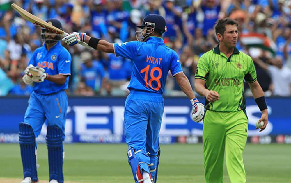 In T20Is, India lead the head-to-head against Pakistan 4-1 with 1 tied game.