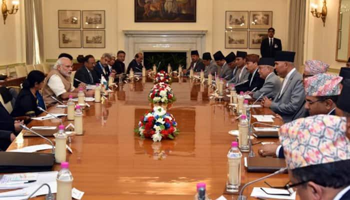 PM Modi meets Nepal PM Oli, discusses India-Nepal ties