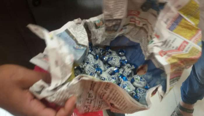Angry barber throws chocolates bag at Karnataka CM Siddaramaiah, arrested