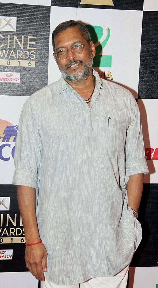 Actor Nana Patekar during the Zee Cine Awards 2016 in Mumbai.