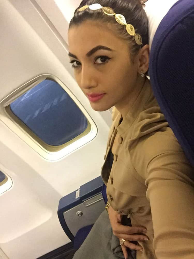 GAUAHAR KHAN :- Good morning ..off to Jaipur .. Showstopper today at blenderspridemagicalnites ..#lovemyjob..#stayswithyou..  -twitter
