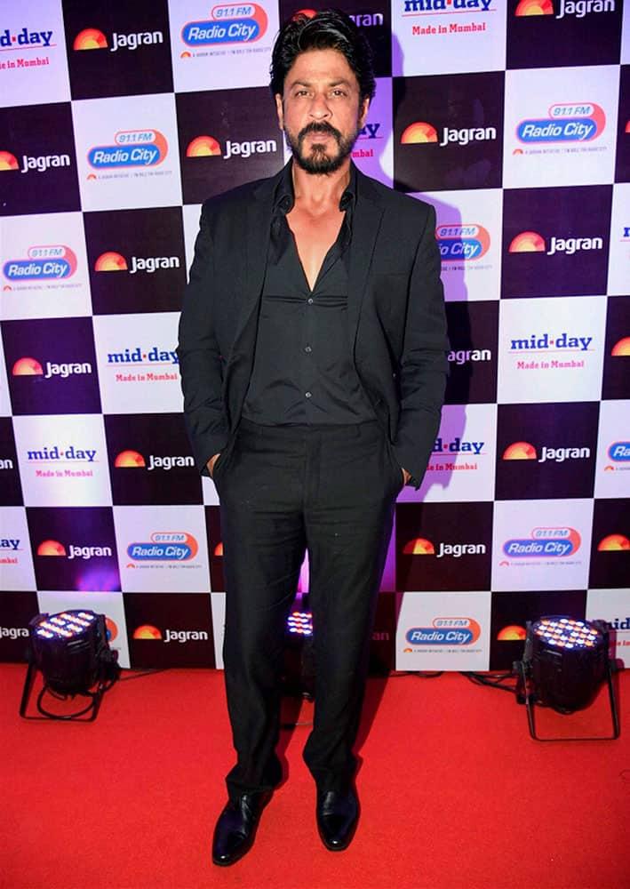 Bollywood actor Shahrukh Khan at a Jagran Prakashan event in Mumbai.