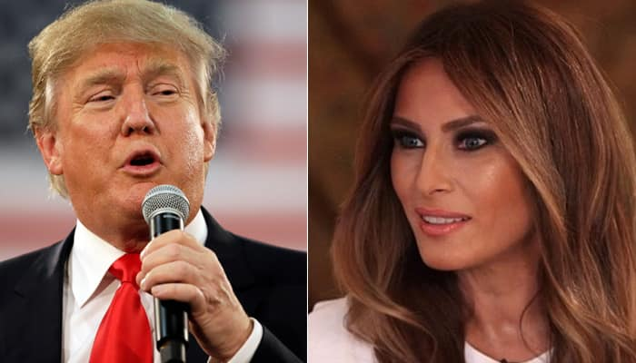 Donald Trumps Wife Melania Defends Her Husband, Says He -7205