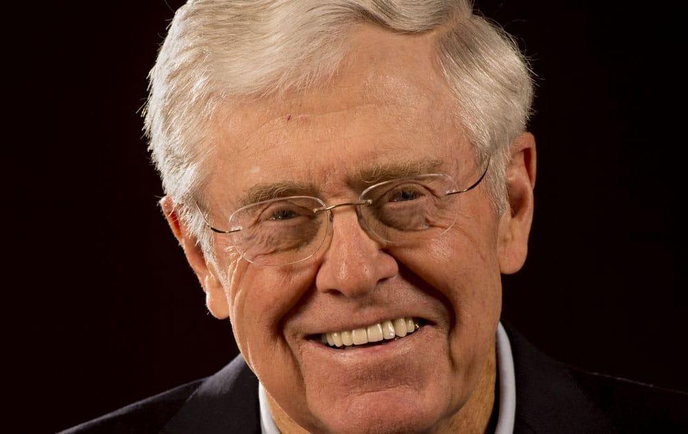 Charles Koch - Net worth USD 39.6 billion