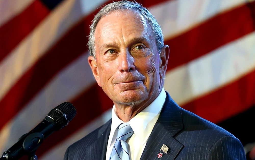 Michael Bloomberg - Net worth USD 40 billion