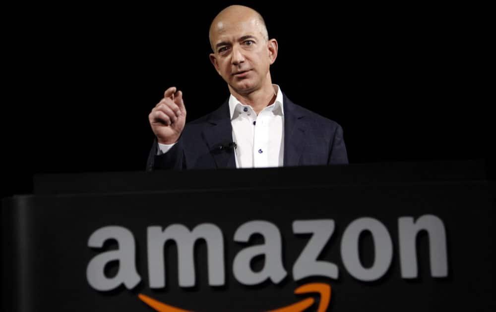 Jeff Bezos - Net worth USD 45.2 billion