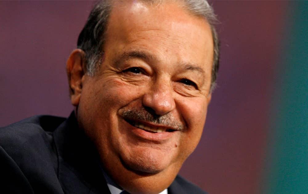 Carlos Slim Helu - Net worth USD 50 billion