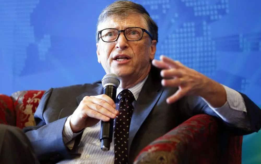 Bill Gates - Net worth USD 75 billion