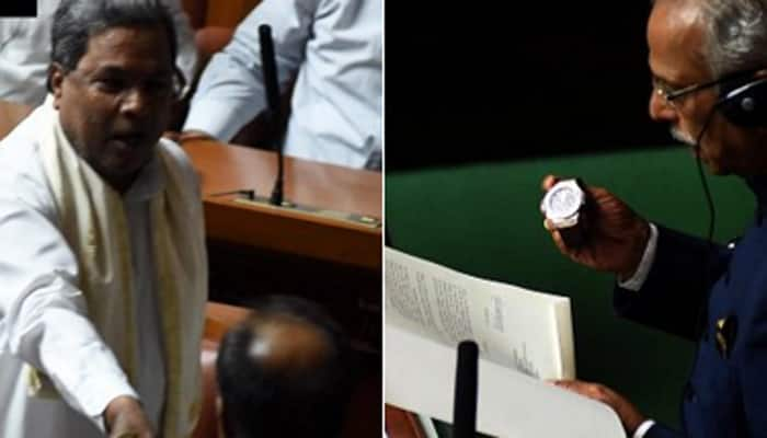 Siddaramaiah hands over Rs 70 lakh Hublot watch to Karnataka Assembly Speaker, says it's a state asset