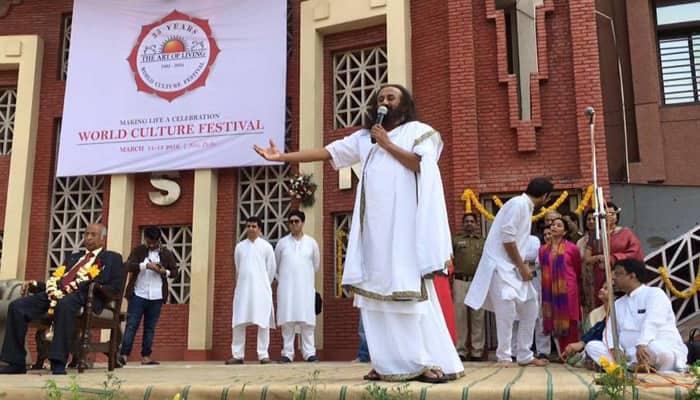 It's joke of the year when people say Art of Living is polluting Yamuna: Sri Sri Ravi Shankar