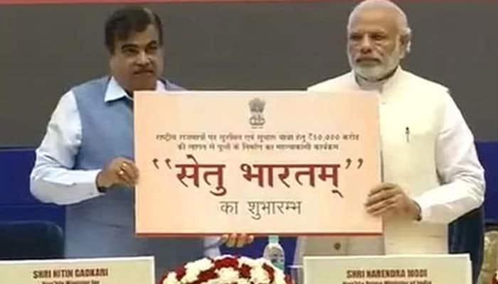 PM Narendra Modi launches Setu Bharatam project, vows to improve road transport in India
