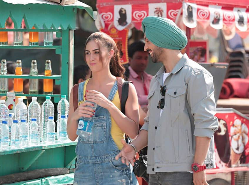 Caption this scene from #Ambarsariya...What is this really going on between these 2 characters @diljitdosanjh Twitter@LaurenGottlieb
