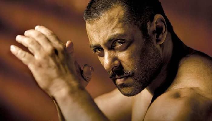'Sultan' Salman Khan shoots with kids!