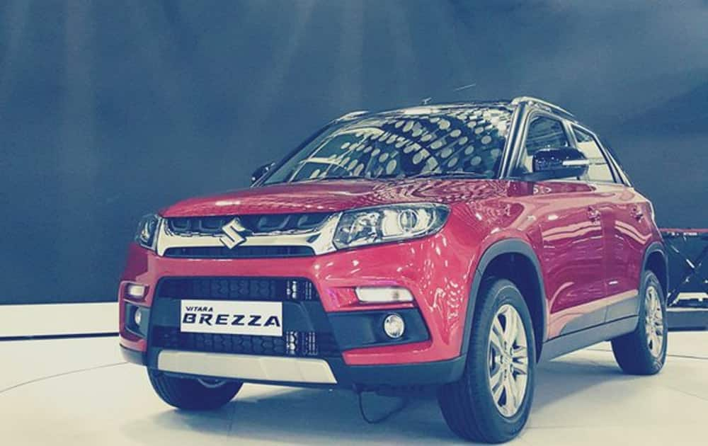Brezza is a work of Maruti Suzuki engineers using Suzuki's core technology and global development process.