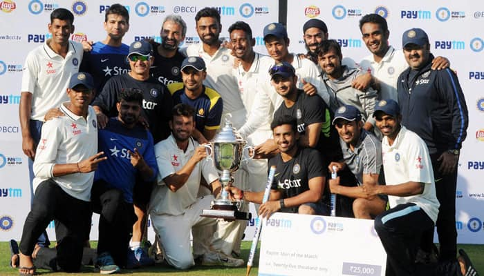 Irani Cup: Rest of India batsmen chase mammoth total against Mumbai to lift trophy