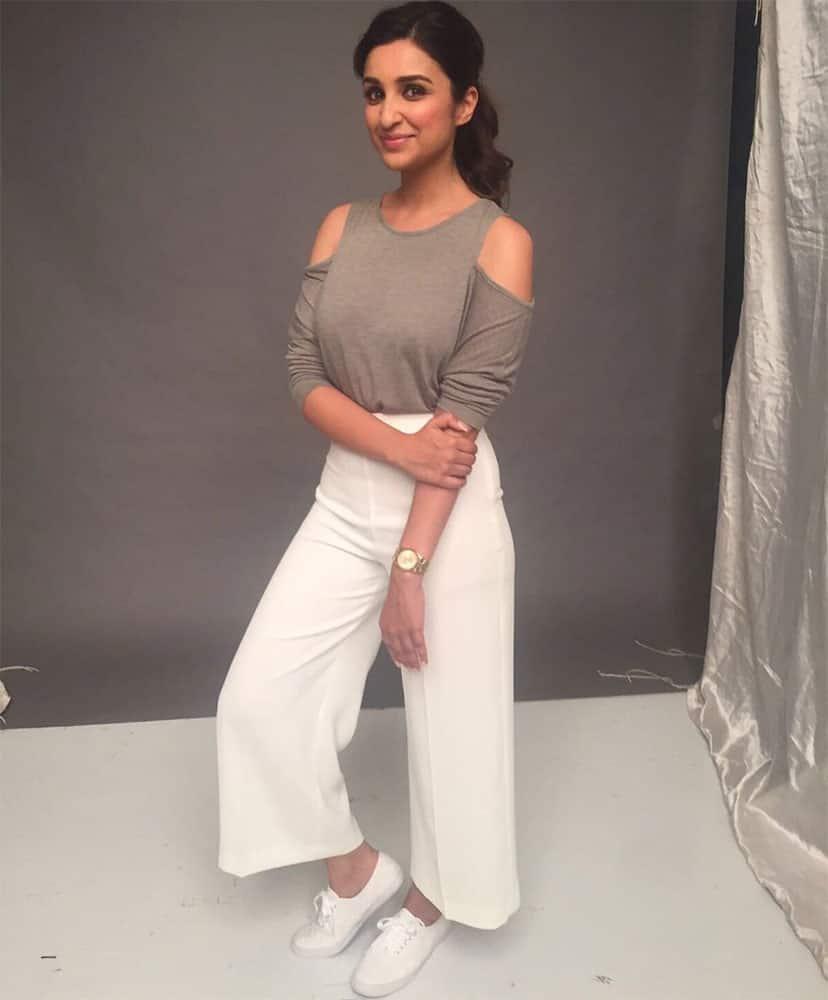 Parineeti Chopra :- Coming soon  #YummyNewBrand ;) @SanjanaBatra @artinayar  -twitter