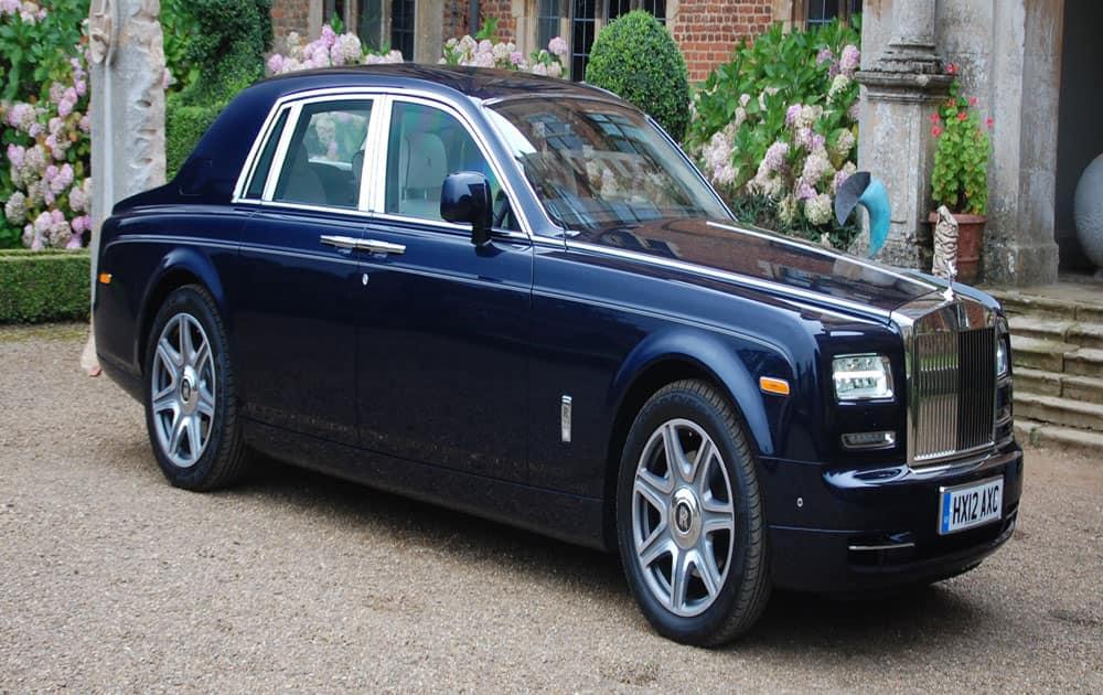 4. Rolls-Royce Phantom Series II, priced at Rs 8 crore