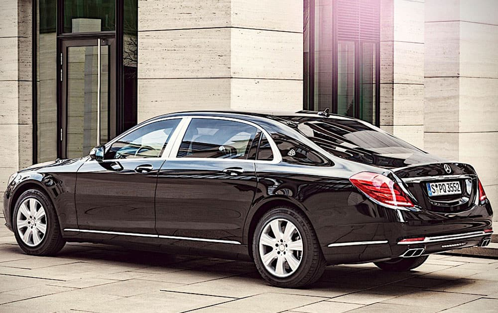3. Mercedes Maybach S600 Guard, priced at Rs 10.5 crore