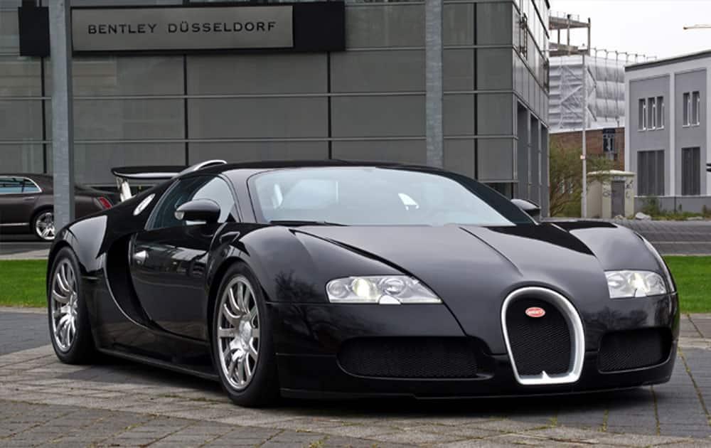 1. Bugatti Veyron EB 16.4 priced at Rs 38 crore
