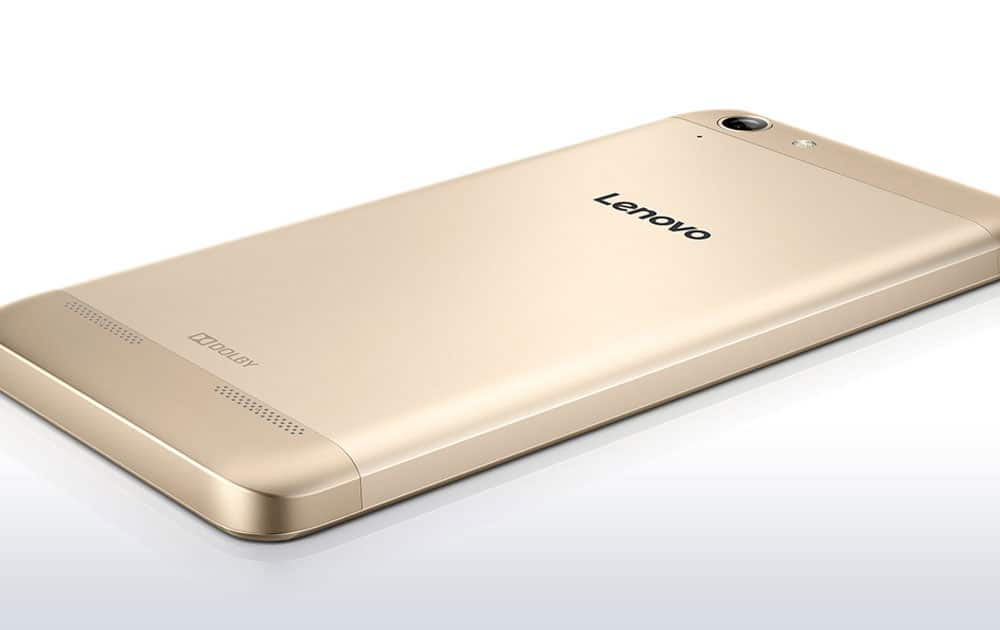 Lenovo Vibe K5 Plus comes with 16GB onboard memory that is expandable up to 128GB via a microSD card.