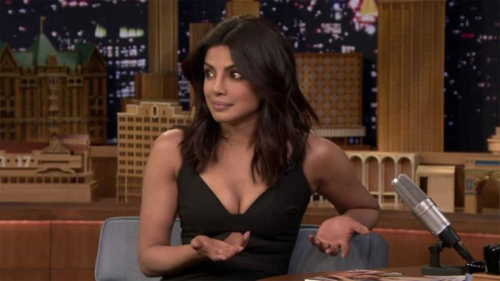 My reaction to every scene on #Quantico... This show is literally twisted like a pretzel.. @priyankachopra -twitter@Shezaahmed17
