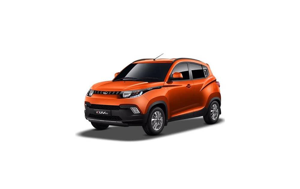 Mahindra KUV 100; priced between Rs 6.47-8.25 lakh.