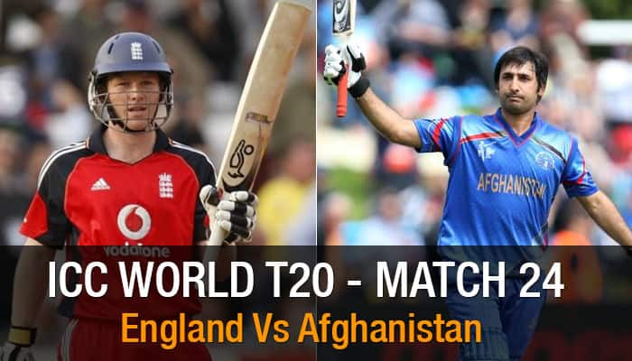 ICC World T20, Match 24, Super 10 Group 1: Afghanistan vs England  – As it happened...