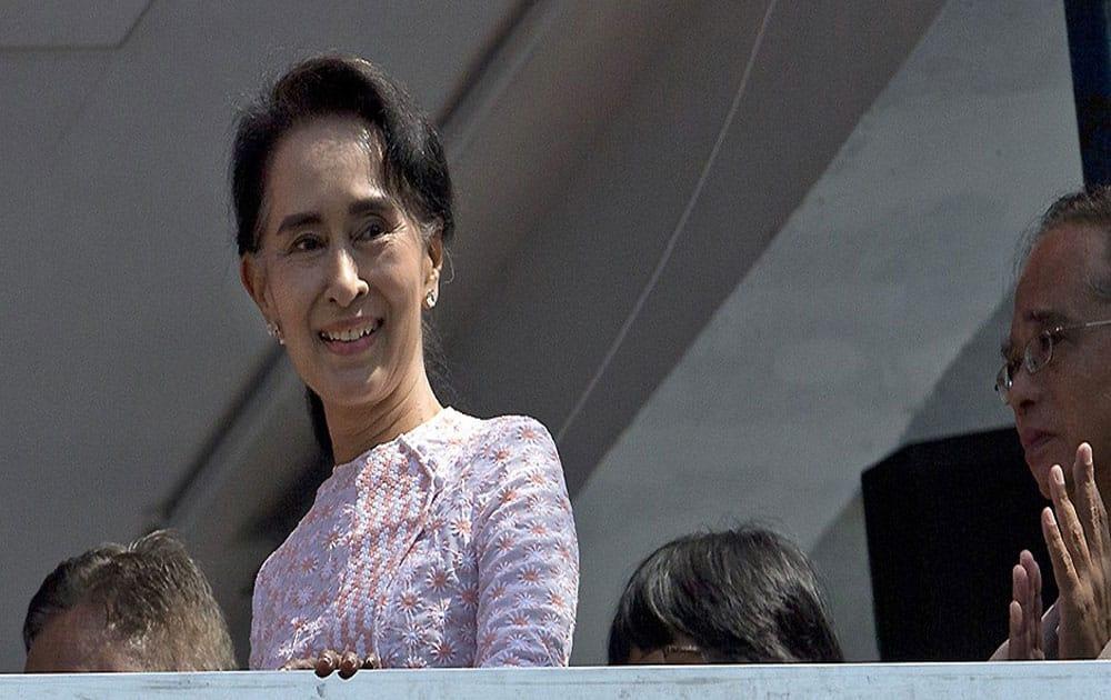3. Aung San Suu Kyi