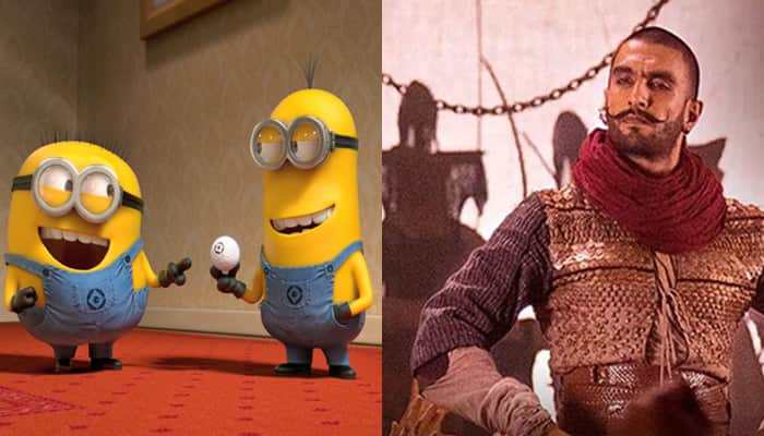 Cute! When minions grooved to Ranveer Singh's 'Malhari'– Watch video