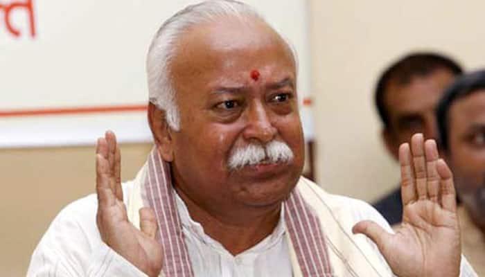 RSS chief Mohan Bhagwat wants 'Bharat Mata ki Jai' raised across the globe