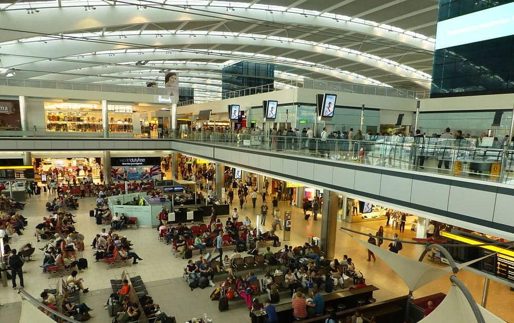 8. Heathrow Airport (London)