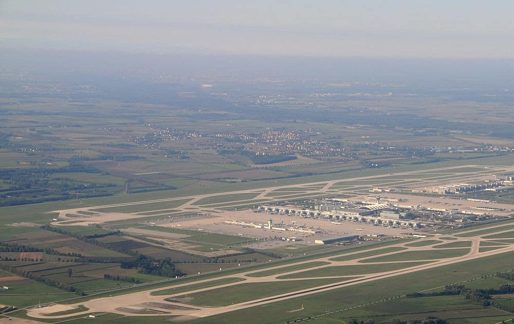 3. Munich Airport (Germany)