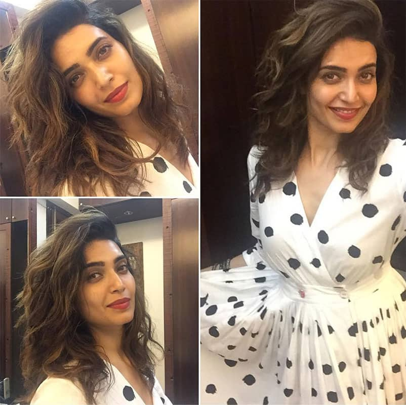 Different mood shots .. #selfie Instagram/karishmaktanna