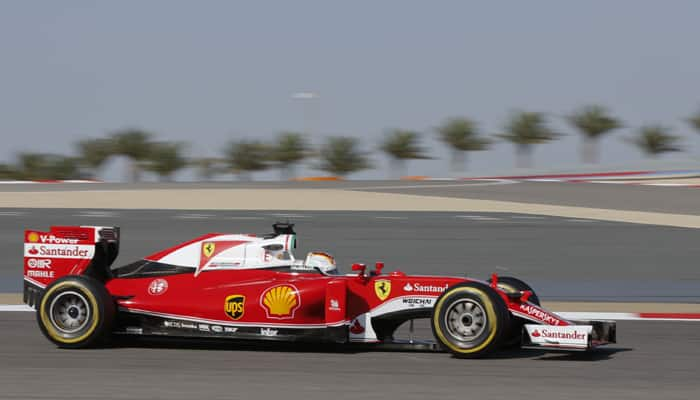 Ferrari end final Bahrain GP practice on top