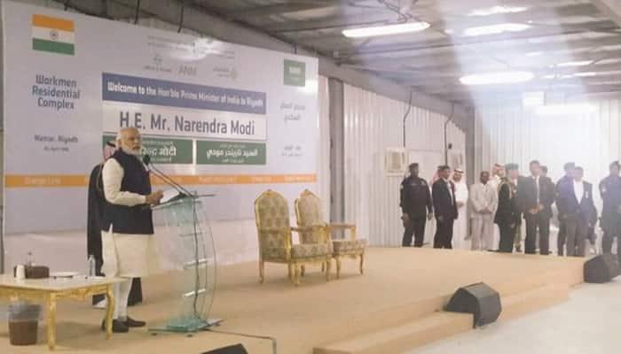 PM Narendra Modi announces 24X7 helpline for Saudi Arabia expats